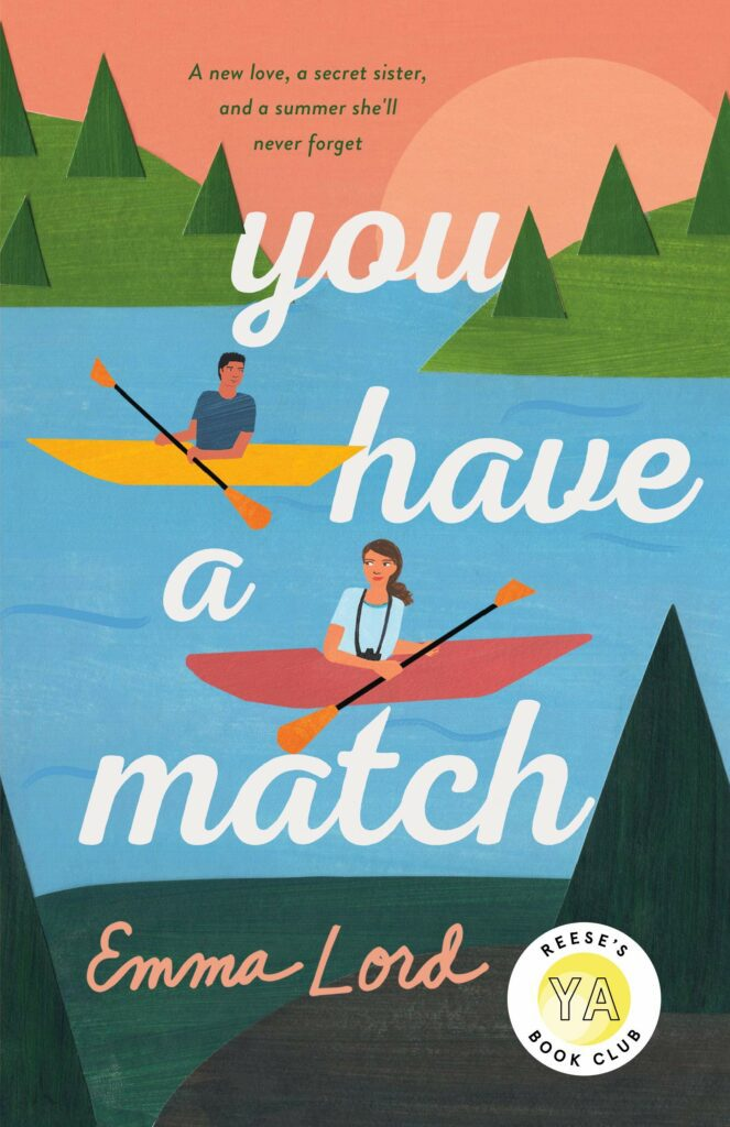 Cover of You Have a Match yellow and red canoes in river