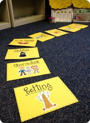 Follow a yellow brick road -- 2nd grade reading comprehension