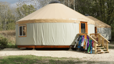 I Teach in a Yurt Classroom