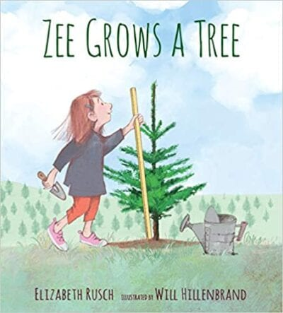 Book cover for Zee Grows a Tree