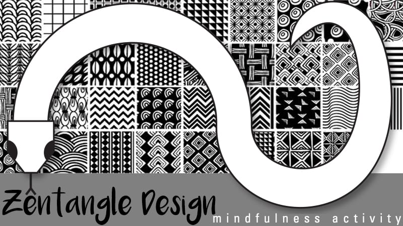 photo relating to Printable Zentangle Patterns identify How in the direction of Purchase Commenced With Zentangle Layouts within just the Clroom