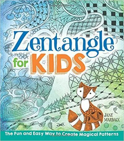 Book cover for Zentangle for Kids