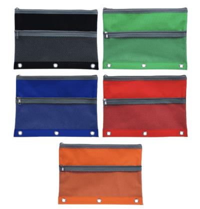 Zipper Binder pencil cases