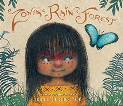 Book cover for Zonia's Rain Forest, as an example of Earth Day books for kids